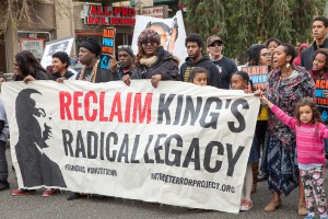 ReclaimMLK Oakland march