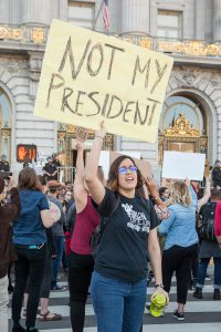Trump protest San Francisco
